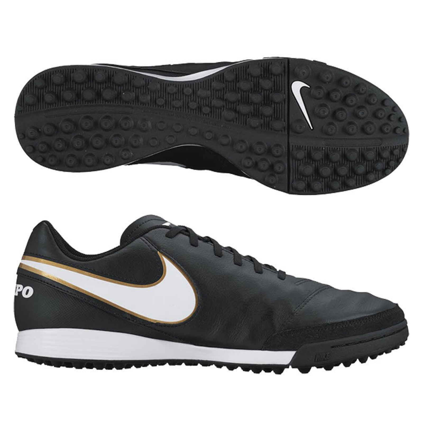 Leather Tf Nike Fussballschuhe Multinocken Tiempo Genio
