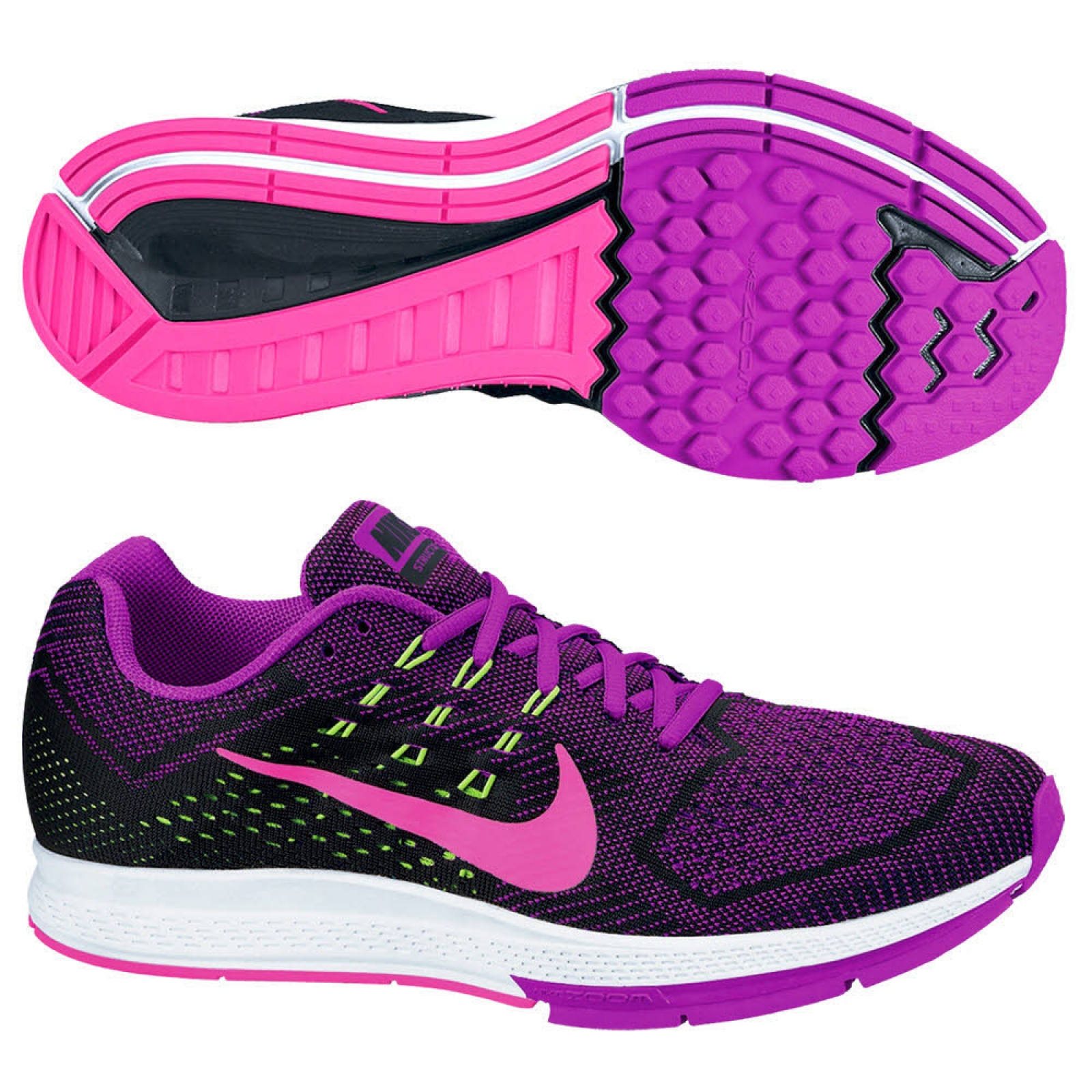 nike air zoom structure 18 lila