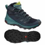 Salomon Outline Mid GTX Wanderschuhe Damen