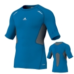 Adidas Techfit Preperation SS T-Shirt