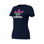 Adidas Originals Trefoil T-Shirt Damen